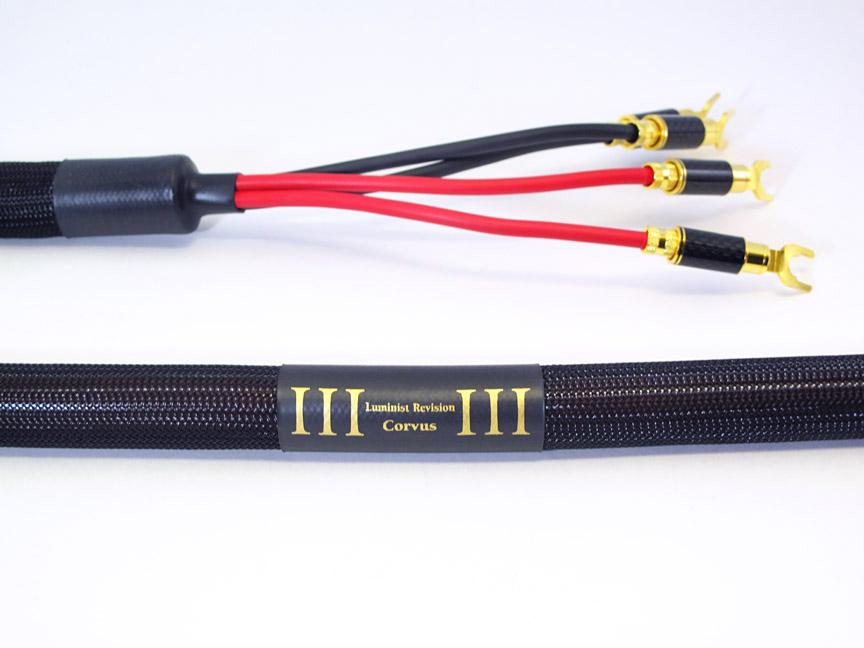 Corvus Speaker Cables